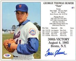 Tom Seaver Signed Photo