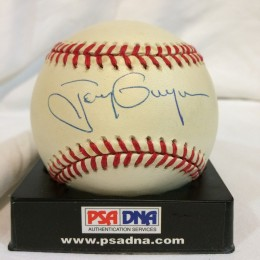 Tony Gwynn Signed Baseball