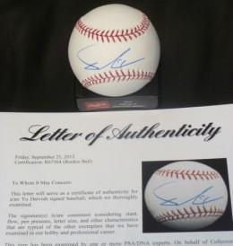 Yu Darvish Signed Baseball