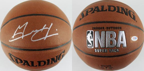 Grant Hill Signed Basketball