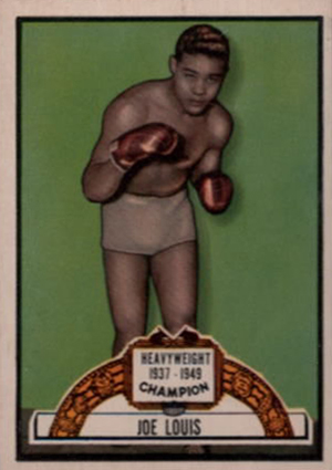 1951 Topps Ringside Boxing Cards 22
