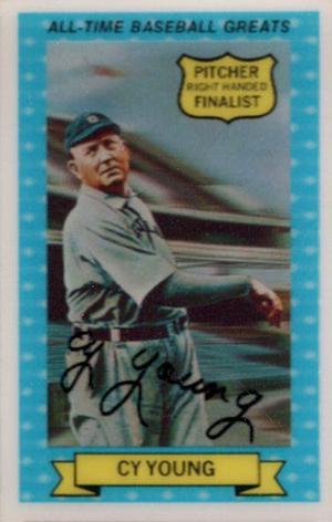 1972 Kelloggs All Time Baseball Greats Checklist Set Info