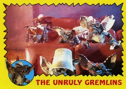 1984 Topps Gremlins Trading Cards 1