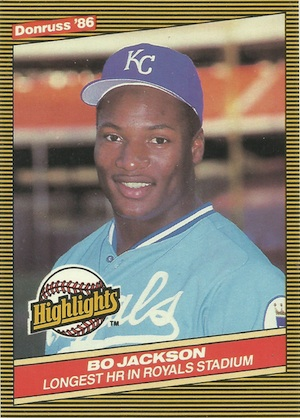 Bo Jackson Rookie Cards and Memorabilia Guide 3