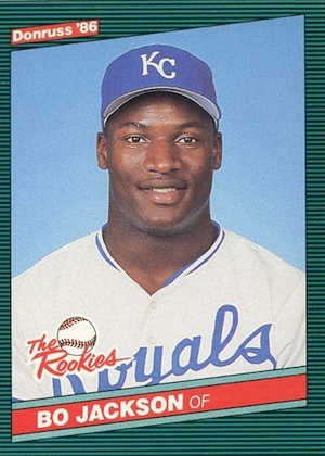 Bo Jackson Rookie Cards and Memorabilia Guide 2