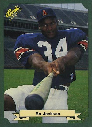 Bo Jackson Rookie Cards and Memorabilia Guide 9