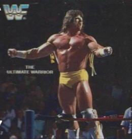 1988 Quaker Dips Ultimate Warrior