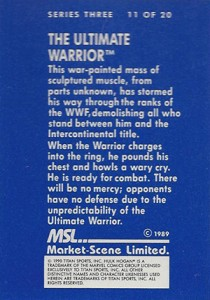 Ultimate Warrior Cards and Memorabilia Guide 7