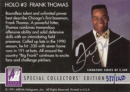 Top 20 Frank Thomas Cards 13