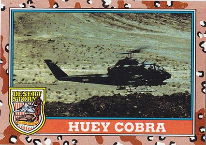 1991 Topps Desert Storm Trading Cards 4
