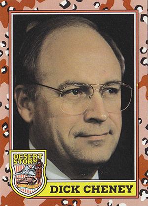 1991 Topps Desert Storm Trading Cards 6
