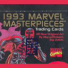 1993 SkyBox Marvel Masterpieces Trading Cards