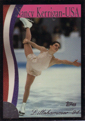 1994 Topps Nancy Kerrigan: My Diary Trading Cards 32
