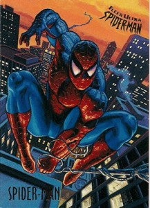 1995 Fleer Ultra Spider-Man Base Card