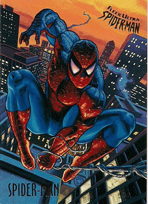 1995 Fleer Ultra Spider-Man Trading Cards 21