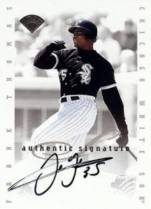 Top 20 Frank Thomas Cards 20