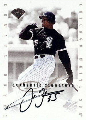 Top 20 Frank Thomas Cards to Collect 20