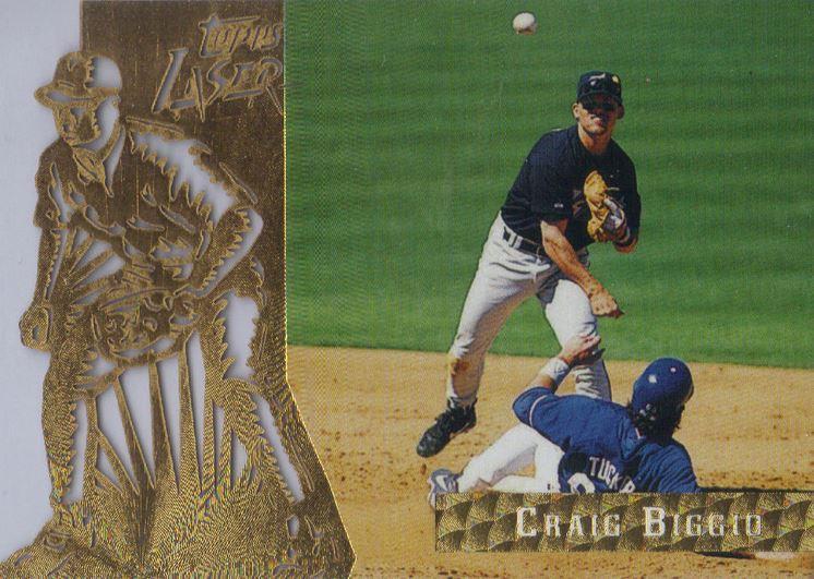 1996 Topps Laser Craig Biggio