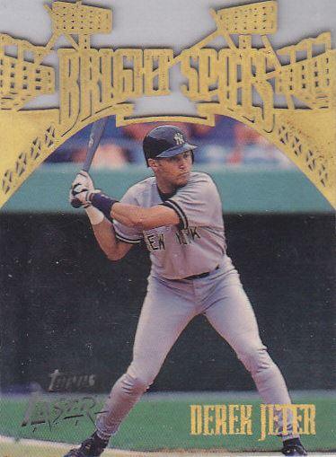 1996 Topps Laser Baseball Cards 34