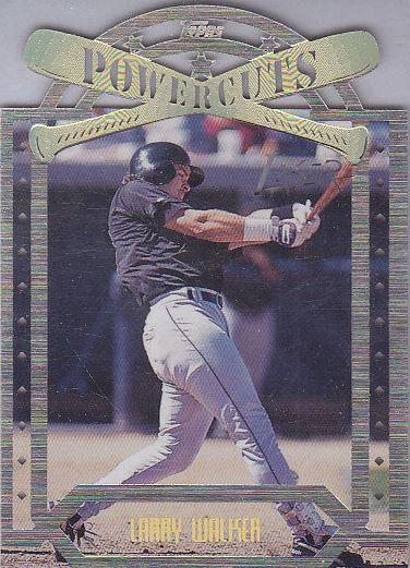 1996 Topps Laser Baseball Cards 35