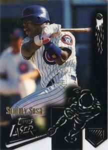 1996 Topps Laser Sammy Sosa