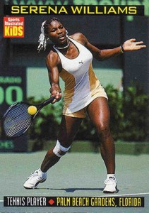 Serena Williams Cards and Autographed Memorabilia Guide 1