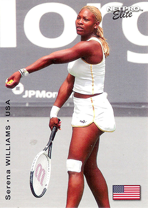 Serena Williams Cards and Autographed Memorabilia Guide 7