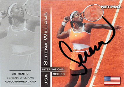 Serena Williams Cards and Autographed Memorabilia Guide 5