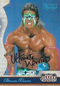 Ultimate Warrior Cards and Memorabilia Guide 8