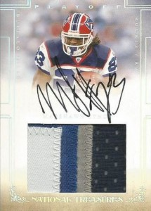 2007 Playoff National Treasures Marshawn Lynch RC