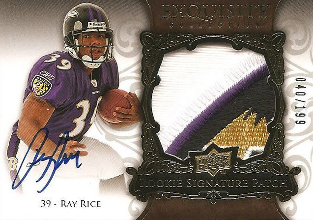 2008 Exquisite Ray Rice RC