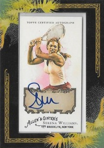 Serena Williams Cards and Autographed Memorabilia Guide 8