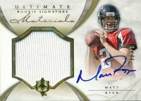 Matt Ryan Cards, Rookie Cards and Autographed Memorabilia Guide 3