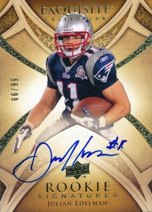 Julian Edelman Rookie Cards Checklist Best Autographs Most