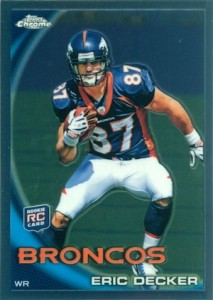 Eric Decker Rookie Card Guide 1