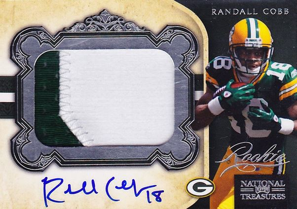 Randall Cobb Cards, Rookie Cards and Autographed Memorabilia Guide 1