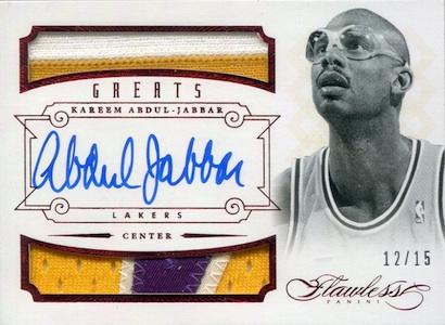 Kareem Abdul-Jabbar Cards and Memorabilia Guide 24