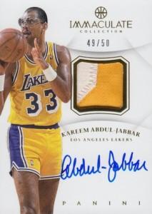 Kareem Abdul-Jabbar Cards and Memorabilia Guide 25