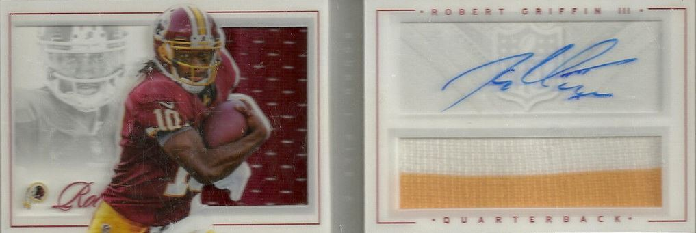 Robert Griffin III Rookie Cards and Autograph Memorabilia Guide 2