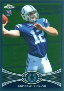 Top 10 Andrew Luck Rookie Cards 1