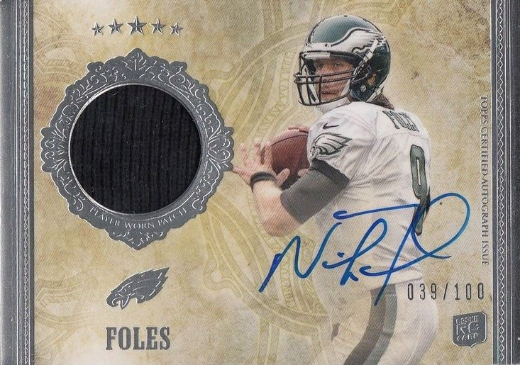 2012 Topps Five Star Nick Foles RC