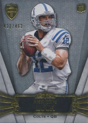 Top 10 Andrew Luck Rookie Cards 3
