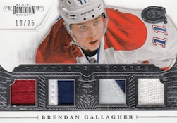 2013 14 Panini Dominion Hockey Complete Rookies Gallagher Image