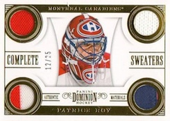 2013 14 Panini Dominion Hockey Complete Sweaters Roy Image