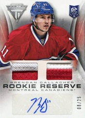 2013-14 Panini Titanium Hockey Cards 40