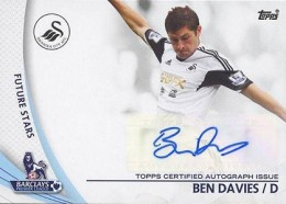 2013-14 Topps Premier Gold Soccer Autographs Guide 2