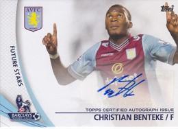 2013-14 Topps Premier Gold Soccer Autographs Guide 6