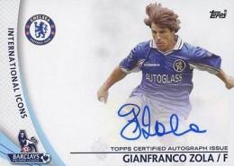 2013-14 Topps Premier Gold Soccer Autographs Guide 10