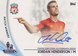 2013-14 Topps Premier Gold Soccer Autographs Guide 15