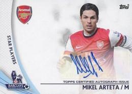 2013-14 Topps Premier Gold Soccer Autographs Guide 30